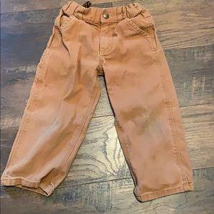 3T Carhartt Pants